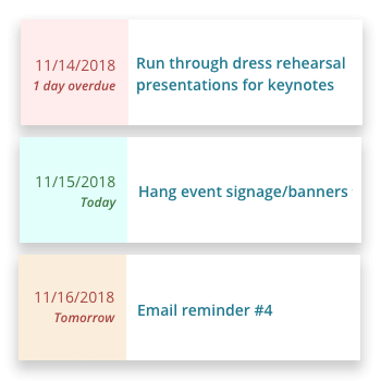 Event Planning Checklists & Templates - Event Project Management